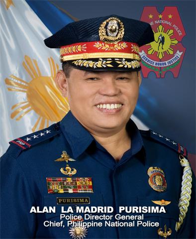 PNP chief Purisima