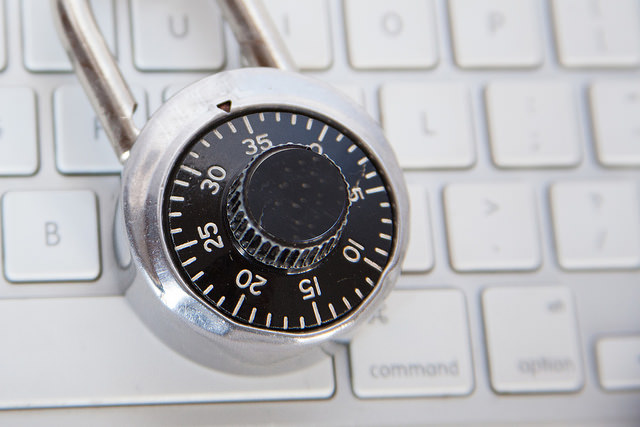 Computer security padlock-bluecoatdotcom