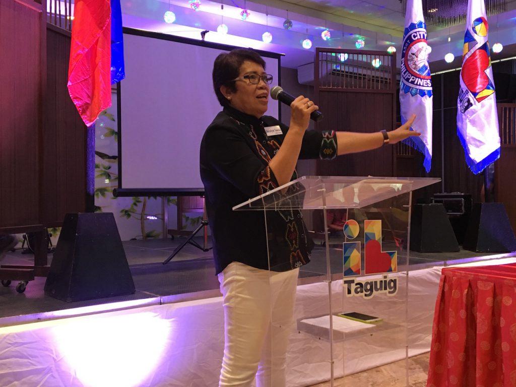 Jocelyn Sueno, wife of DILG Secretary Ismael Sueno