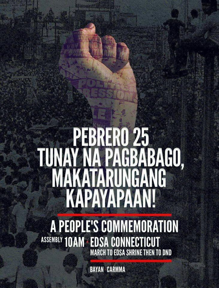 bayan EDSA celebration