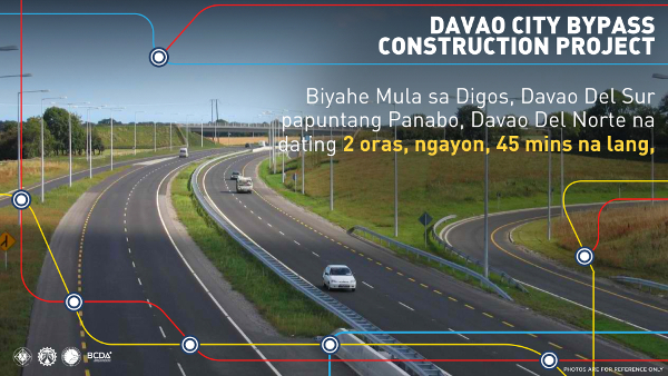 davao city bypass construction project