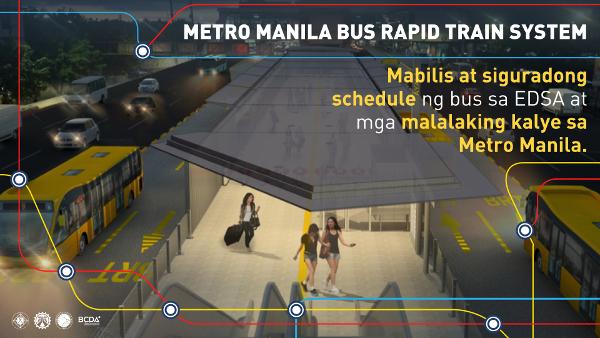 metro manila bus rapid train system