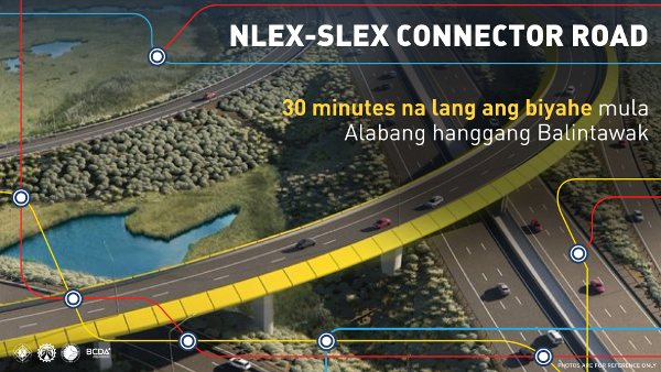 nlex connector road