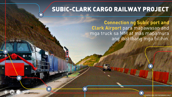 subic clark cargo railway project