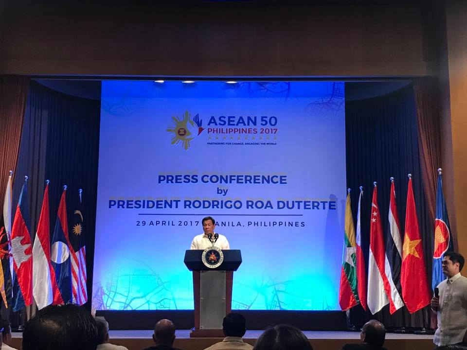 president duterte press conference