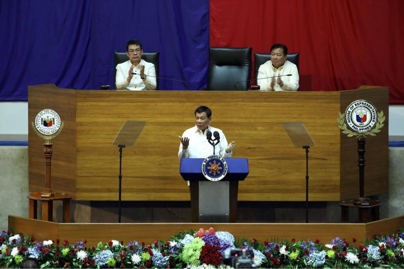 President duterte SONA 2017-23