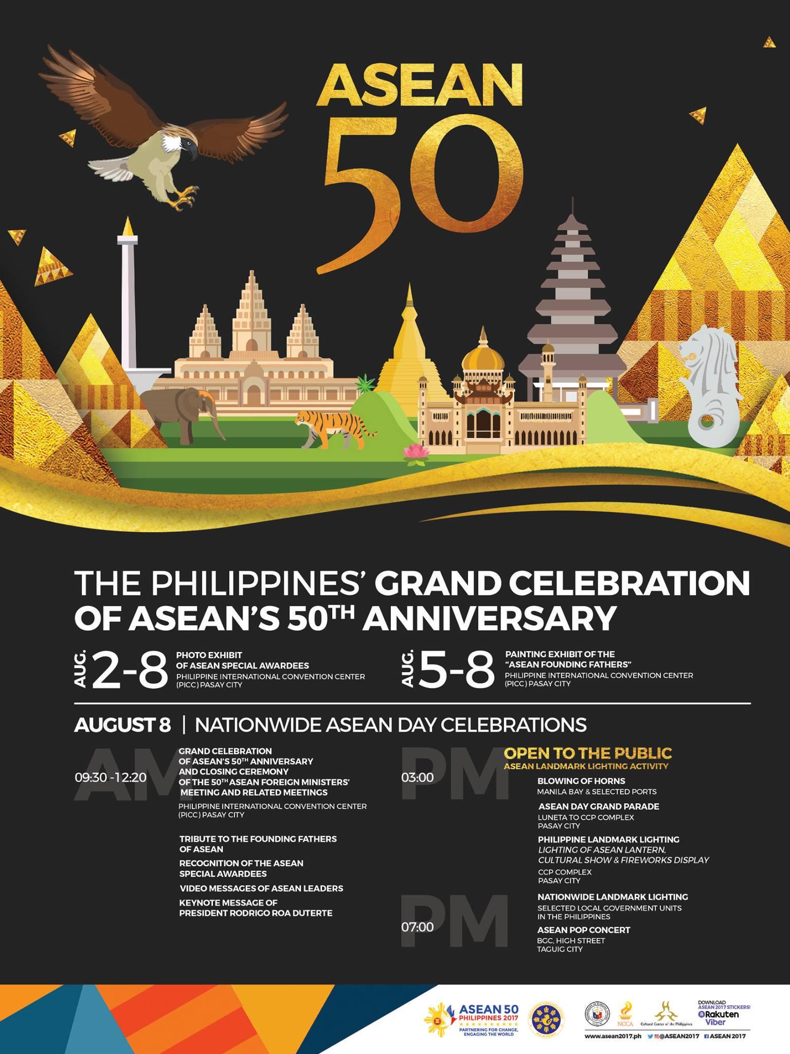 asean 50 activities