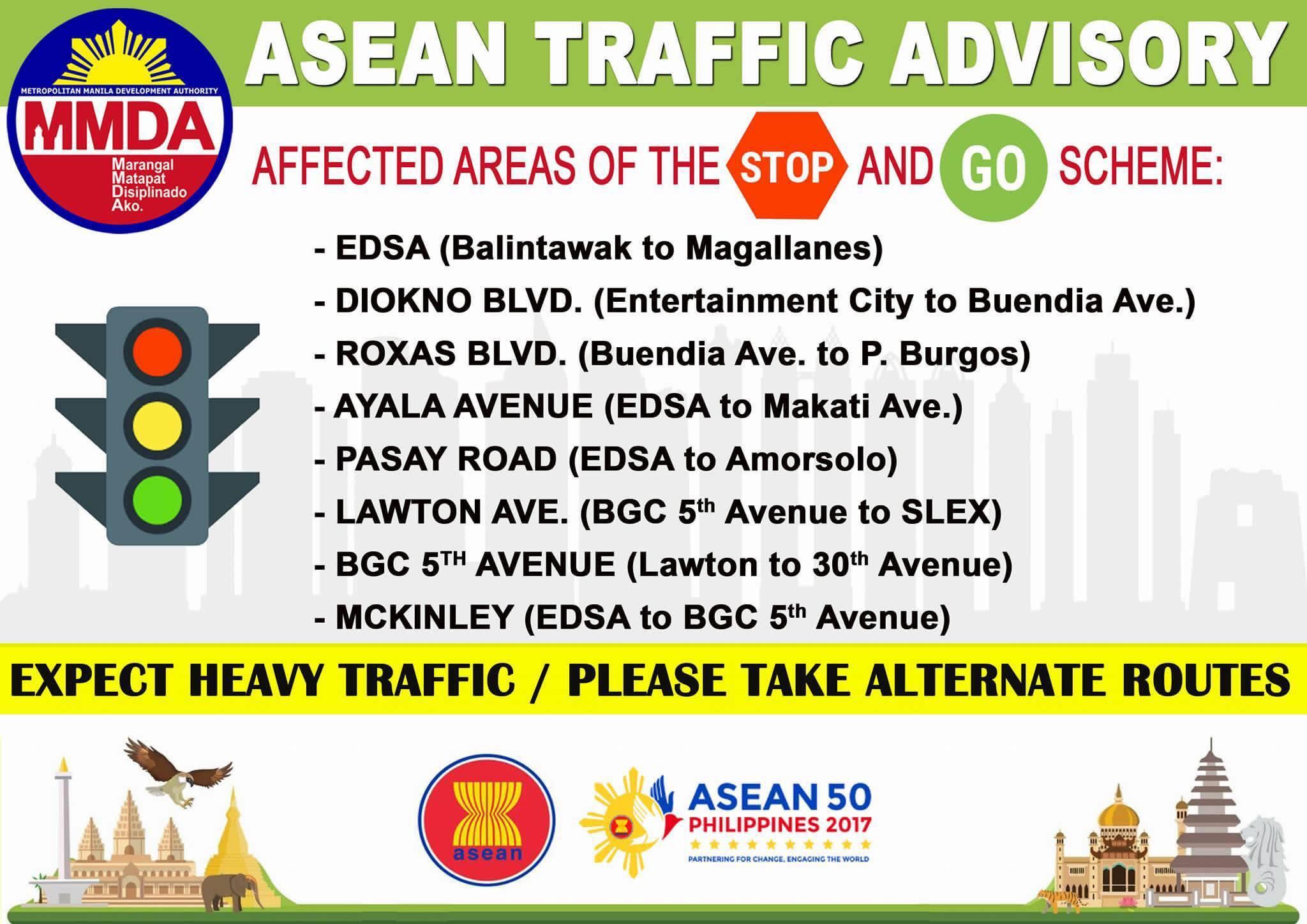 asean traffic advisory
