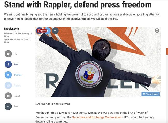 stand with rappler